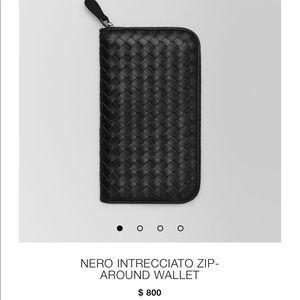 Brand New, never used Bottega Veneta wallet